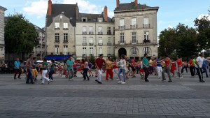 Flashmob west coast swing Nantes 2017